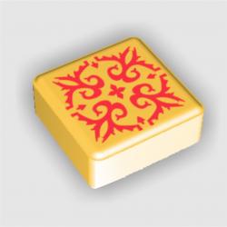Azul - Żółty Kafelek