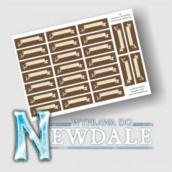 Wyprawa do Newdale: Naklejki